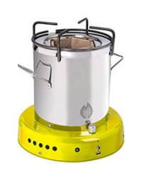 Off The Grid Bio Energy Cooker - Yellow