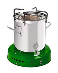 Off The Grid Bio Energy Cooker - Forest Green