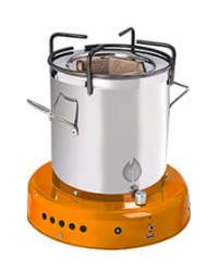 Off The Grid Bio Energy Cooker - Orange