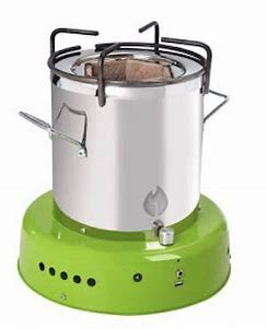 Off The Grid Bio Energy Cooker - Light Green